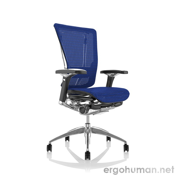 Nefil Blue Mesh Office Chair