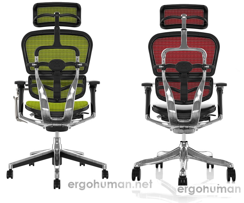 Ergohuman Plus Luxury vs Ergohuman Elite